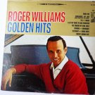 Roger Williams Golden Hits lp
