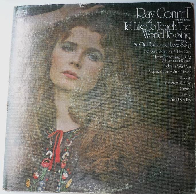 Id Like to Teach the World to Sing - Ray Conniff 1970s lp kc-31220