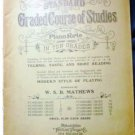 Standard Graded Course of Studies for the Piano Forte in Ten Grades - Grade 3 - Antique