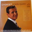 Choice lp by John Gary - lsp3501