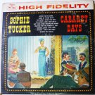 Cabaret Days LP by Sophie Tucker