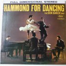Hammond for Dancing by The Don Baker Trio lp