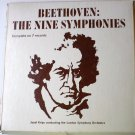 Beethoven: The Nine Symphonies lp Set by J Krips