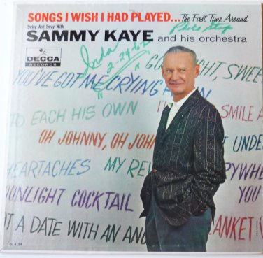 Songs I Wish I Had Played lp by Sammy Kaye