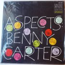 Aspects lp by Benny Carter - Stereo