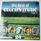 The Best of Country Music Vol 7 lp by Various