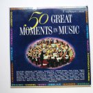 50 Great Moments in Music lp by Various