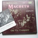 Shakespeares Macbeth Complete lps by Old Vic Company