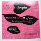 Chopin Concerto No 2 in F Minor Op 21 Otto Klemperer