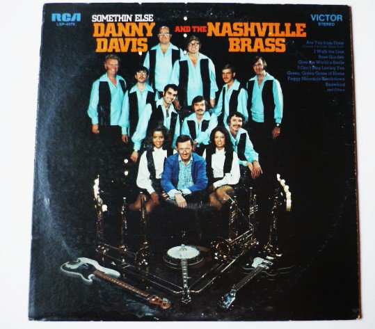Somethin Else LP by Danny Davis and the Nashville Brass