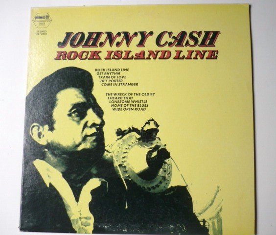 Johnny Cash Rock Island Line lp