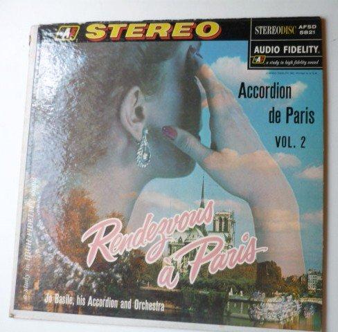 Rendezvous a Paris: Accordion de Paris Vol 2 lp by Jo Basile