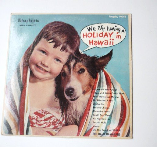 We Are Having a Holiday in Hawaii lp by the Halo Hawaiians