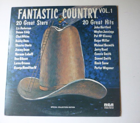 Fantastic Country Vol 1 lp - 20 Great Stars 20 Great Hits