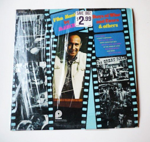 Film Music by Mancini lp acl 7035 Stereo Days of Wine and Roses and Others
