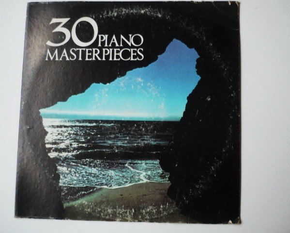 30 Piano Masterpieces lp by Various Artists