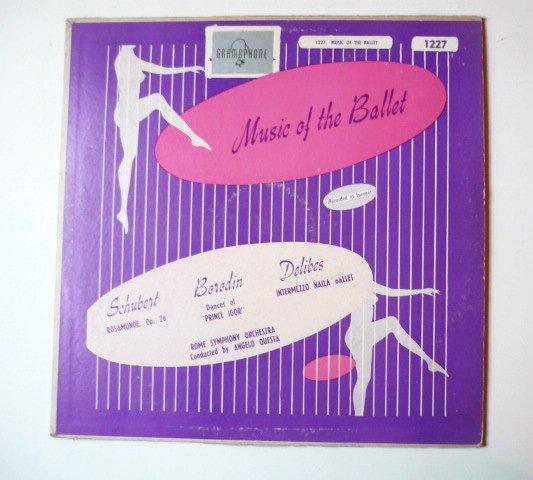 Music of the Ballet Schubert Borodin Delibes lp