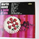 A Taste Of Hits lp by Martin Denny