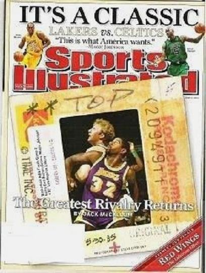 Sports Illustrated June 9 2008 The Greatest Rivalry Returns