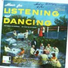 Music for Listening and Dancing lp - John Senati K143