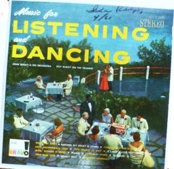 Music for Listening and Dancing lp - John Senati K143