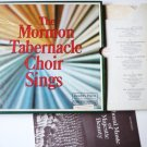 The Mormon Tabernacle Choir Sings Boxed lp Set