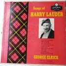 Songs of Harry Lauder - George Elrick with the Stargazers lp