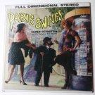 Paris Swings lp by Elmer Bernstein