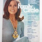 Family Circle Magazine August 1971 Mary Tyler Moore on Cover