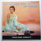 Memories Are Made of These lp by David Rose and Fontanna
