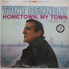 Tony Bennett lp Hometown My Town Re-Issue