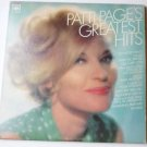 Patti Pages Greatest Hits By Patti Page lp cl 2526