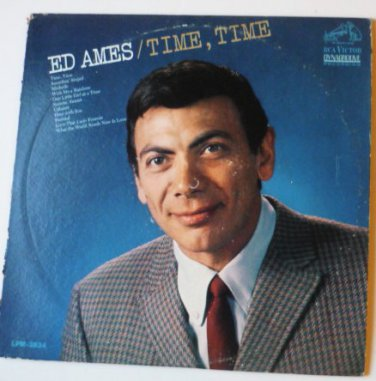 Ed Ames Time Time lp