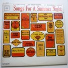 Songs For A Summer Night by Various - Double lp