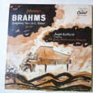 Johannes Brahms Symphony No 1 in C Minor lp by Joseph Keilberth