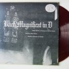 Bach Magnificat in D Major lp with Walter Reinhart