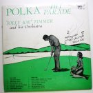 Polka Hit Parade lp by Jolly Joe Timmer and his Orchestra