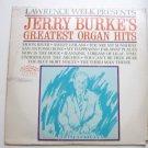 Lawrence Welk Presents Jerry Burkes Greatest Organ Hits lp