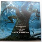 Beethoven Appassionata Pathetique Sonatas lp by Artur Rubinstein