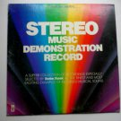Stereo Music Demonstration Record lp
