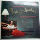 Music for Reading lp by The Melachrino Strings