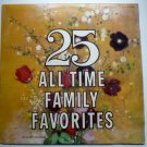 25 All Time Family Favorites by Various Artists lp