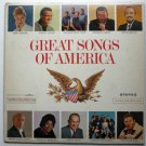 Great Songs of America lp csp 133