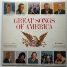Great Songs of America lp csp 133