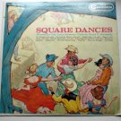 Square Dances lp by Woodhulls Old Tyme Masters