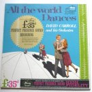 All the World Dances lp by David Carroll and His Orchestra