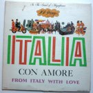 Italia Con Amore From Italy With Love lp by 101 Strings