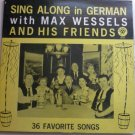 Sing Along in German with Max Wessels lp