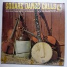 Square Dance Calls lp by Carson Robison