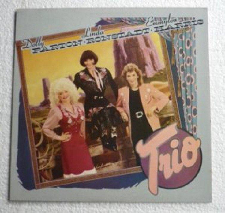 Trio 1987 lp - Dolly Parton Linda Ronstadt Emmylou Harris - 25491-1